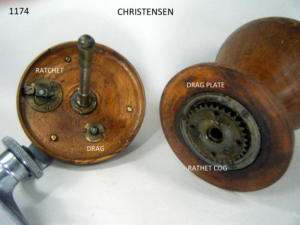CHRISTENSEN FISHING REEL 104