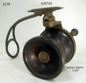 JUSTUS FISHING REEL 099