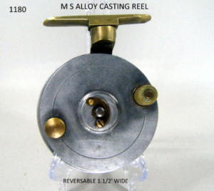 SIDECAST FISHING REEL 107