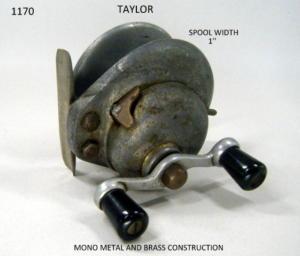 TAYLOR FISHING REEL 097