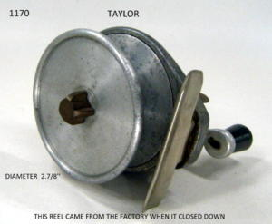 TAYLOR FISHING REEL 098